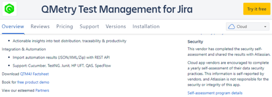 QMetry Test Manangement for Jira