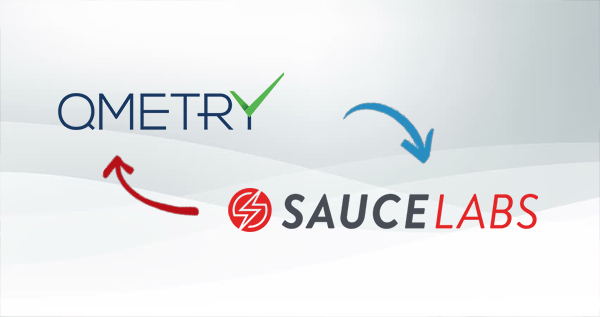 Sauce_Labs_Technology_partners with QMetry