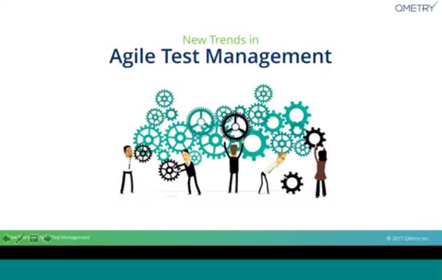 New trends in Agile test management