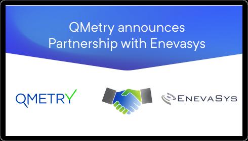 QMetry Partnership with EnevaSys