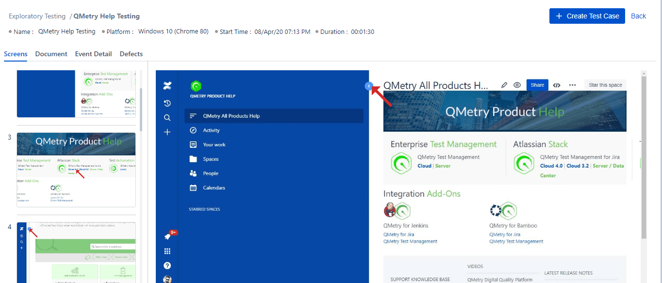 Automated Test Case Documentation with QMetry's Exploratory Testing
